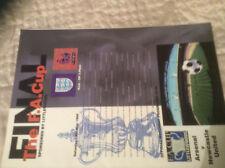 1998 FA CUP FINAL ARSENAL V NEWCASTLE UNITED