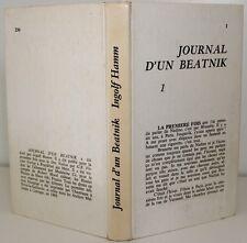 Ingolf HAMM Journal d'un Beatnik (Nadou) E.O. fr. Editions ROBERT MOREL 1969