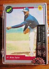 1991 Classic Draft Picks Limited Edition Sealed Baseball Set Manny Ramirez + COA