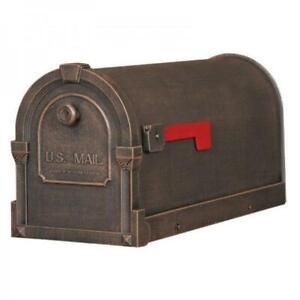 Savannah Curbside Mailbox SCS-1014-CP Savannah Curbside Mailbox-Copper