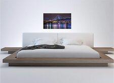 Nights Lights Bridge Color Wall Sticker Wall Mural 20x36