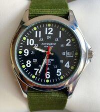 Montre Automatique Homme Trooper Etat Neuf Bracelet Nato