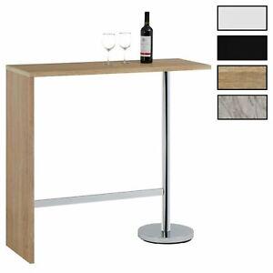 Table haute de bar mange-debout comptoir plateau en MDF