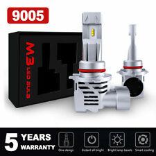 9005 HB3 LED Headlight Bulb Conversion Kit High Beam 6000K White Light 120W M3