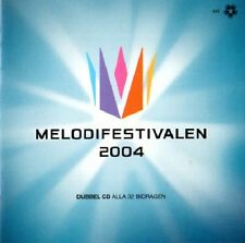 2 CD Melodifestivalen 2004, Eurovision ESC pre selection SWEDEN SVEZIA