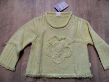 CAKEWALK schöner Pullover gelbgrün Gr. 92 NEU ST817
