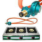 Portable Propane Gas Range 3-Burner Stove Auto Ignition Outdoor Camping Stoves photo