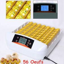 56 Incubadora Automática Pollo Pato Huevo Digital Eclosión  & Función Prueba Luz