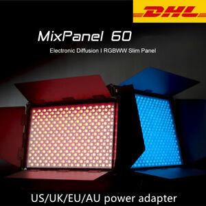 NanLite MixPanel 60W Bi-color RGB LED Light Panel Photography Light 2700K-7500K