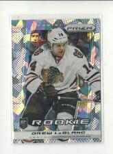 2013-14 Prizm Cracked Ice Toronto Fall Expo #222 Drew LeBlanc RC Blackhawks /30