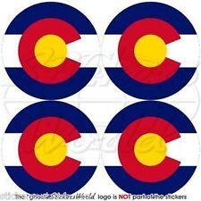 "COLORADO State America, Coloradan USA Bumper-Helmet, Decals-Stickers 2""(50mm) x4"