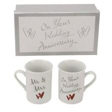 Juliana Your Wedding Anniversary - Mr & Mrs Mugs Gift Set CM229