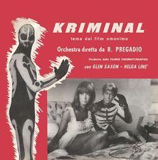 Kriminal / Il Cobra OST 7'' vinyl Four Flies Romano Mussolini Antón Abril