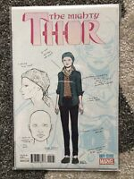 MIGHTY THOR #1 Dauterman Design RI VARIANT JANE FOSTER THOR DISNEY #1226