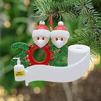 Niedliche 2020 Weihnachten personalisierte Anhänger Weihnachtsbaum Dekoration