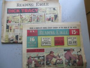 Reading (PA) Eagle Comics Section from July 26, 1959 - Sixteen Pages!