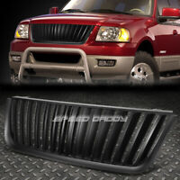 FOR 03-06 EXPEDITION U222 BLACK FRONT BUMPER HOOD VERTICAL GRILLE COVER GUARD