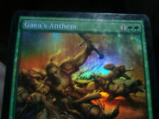 Gaea's Anthem Foil x1 Planar Chaos Played FOIL Free shipping in Canada!