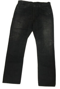 Slab MWY2008 By Rick Owen's New Men's Jeans Straight Leg Dark Fade