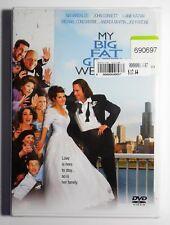 Brand New GIFT Ready My Big Fat Greek Wedding 2002 WS FF DVD R1 Nia Vardalos