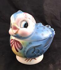 Vintage LEFTON PY BLUEBIRD BISCUIT/ COOKIE JAR