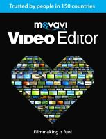 New Release : Movavi  Video Editor 15 , Edit Videos , AVI , MPEG for Windows