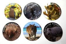 Australian Animals, Souvenir, Drink Coaster Set Made in Australia