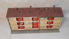 Vintage Kibri HO TT 8101 Apartment Building 2 Pieces - CHECK DIMENSIONS!