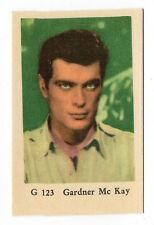 Década 1960 Sueco Estrella Cine CARTA G Juego #123 EEUU actor Artista GARDNER