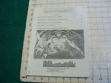 Vintage Original zine: AMONG THE LOOMING MONOLITHS #1, 1983, 8 PAGES