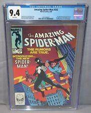 THE AMAZING SPIDER-MAN #252 (Black Costume 1st app) CGC 9.4 NM Marvel 1984 Venom