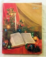 Ideals Christmas Magazine October 1962