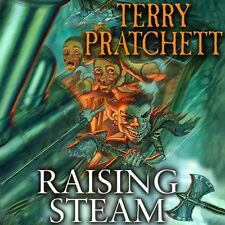 Raising Steam: Discworld Novel 40 New Audio CD Book Terry Pratchett