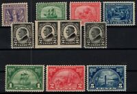 P126875/ UNITED STATES – 1919 / 1924 UNUSED SEMI MODERN LOT – CV 158 $