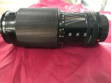 CANON 70-210mm F4 FD MOUNT ZOOM LENS, CAPS, FOR CANON 35mm CAMERAS