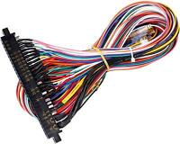 Arcade JAMMA 56 Pin Interface Cabinet Wire Wiring Harness Loom Arcade PCB Cable