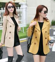 Women Fashion Warm Casual Windbreaker Parka Long Slim Coat Outwear Jacket Coats