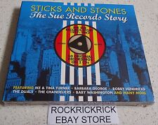STICKS AND STONES-THE SUE RECORDS STORY -1957-1962(2 CD SET 50 TRACKS) BRAND NEW