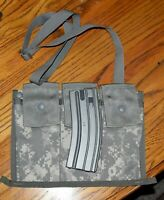 NEW US MILITARY ACU BANDOLEER AMMO POUCH 6 MAG 8465-01-524-7309