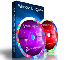 Windows 7 Ultimate Upgrade To Windows 10 Pro + Driver DVD + Recovery 32 Bit