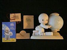 1992 Precious Moments Figurine E-1381R JESUS IS THE ANSWER, w/Box, MIB