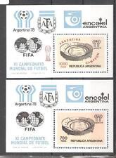ARGENTINA H.B. nº 18** y 19**. Copa Mundial de fútbol