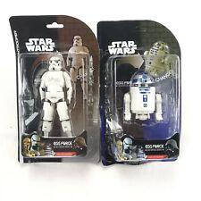 star wars figures Bulk Lot X2 R2D2 & Storm Trooper