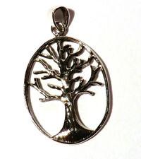 Baum des Lebens Lebensbaum Anhänger 925 Sterling Silber Schmuck Tree of Life Neu