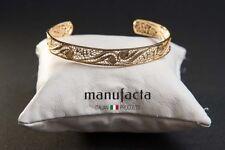 Gold filigree bracelet - HANDMADE | BRACCIALE SCHIAVA ORO DONNA IN FILIGRANA