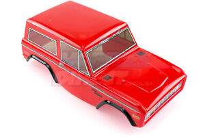 HSP 1/10 RC4 Rock Cruiser Truck Painted Red Body Shell