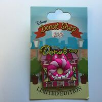 Donut Shop - Pin of the Month - Cheshire Cat - LE 3000 Disney Pin 130023
