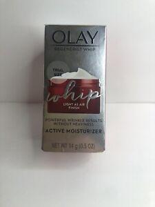 Olay Regenerist Whip Active Moisturizer Light as Air Finish 14g/0.5oz Trial Size