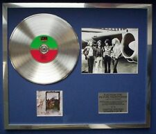 LED ZEPPELIN IV  PHOTO PIC CD PLATINUM DISC  FREE P+P