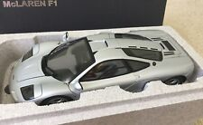 1/18 Autoart Rare Soldout Mclaren F1 GTR Road Car Magnesium Silver Limited Ed